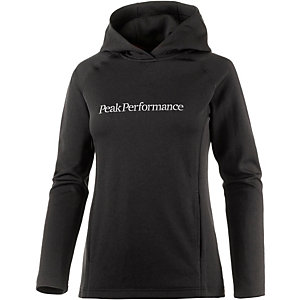 Peak Performance Kate Kapuzenpullover Damen schwarz