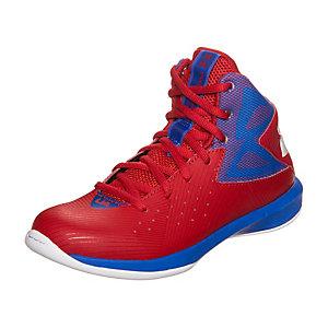 Under Armour BGS Rocket Basketballschuhe Jungen rot / blau