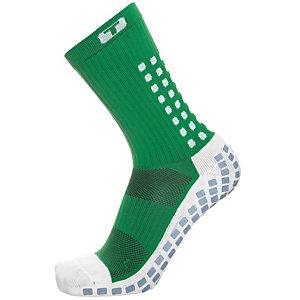 TruSox Mid-Calf Cushion Fußballstrümpfe Herren grün / weiß