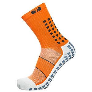 TruSox Mid-Calf Thin Fußballstrümpfe Herren orange / schwarz