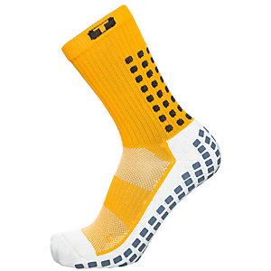TruSox Mid-Calf Cushion Fußballstrümpfe Herren gelb / weiß
