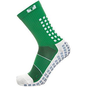 TruSox Mid-Calf Thin Fußballstrümpfe Herren grün / weiß