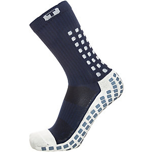 TruSox Mid-Calf Cushion Fußballstrümpfe Herren dunkelblau / weiß