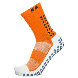 TruSox Mid-Calf Cushion Fußballstrümpfe Herren orange / schwarz