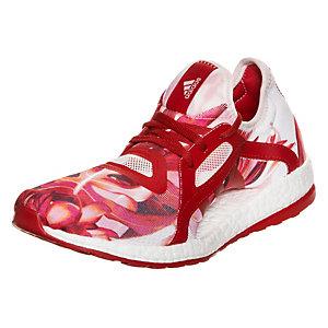 adidas Pure Boost X Laufschuhe Damen rot / weiß