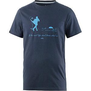 WLD Live Life Printshirt Herren navy
