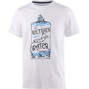 WLD Open Water Printshirt Herren weiß