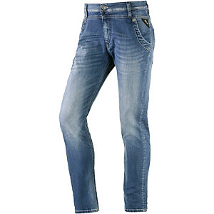 REPLAY Denice Boyfriend Jeans Damen washed denim