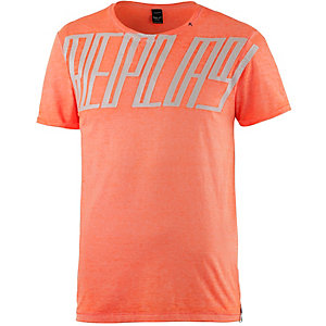 REPLAY Printshirt Herren neonorange