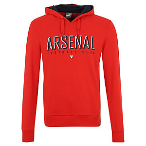 PUMA Arsenal London Fan Hoodie Herren rot