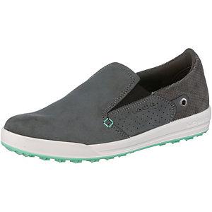 Lowa Cadiz Slipper Damen grau/grün
