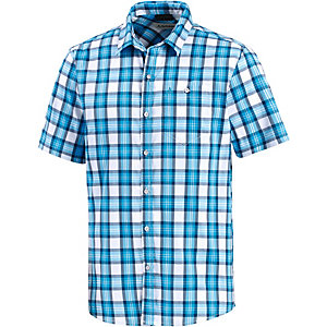 Schöffel Ranger Kurzarmhemd Herren blau