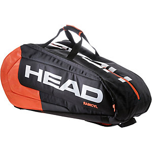 HEAD Radical 12R Monstercombi BKOR Tennistasche schwarz/orange