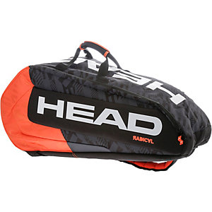 HEAD Radical 9R Supercombi BKOR Tennistasche schwarz/orange