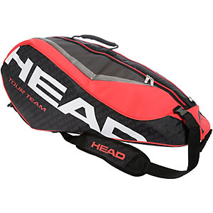 HEAD Tour Team 6R Combi Tennistasche schwarz/rot