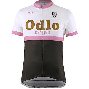Odlo Ride Stand Up Fahrradtrikot Herren weiß/grau