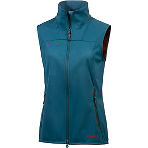 Mammut Ultimate Softshell Weste Damen petrol