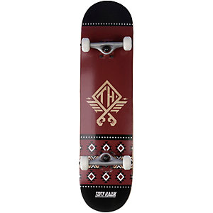 TONY HAWK Native Skateboard-Komplettset rot
