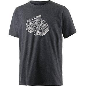 Mountain Hardwear Van Life Printshirt Herren schwarz