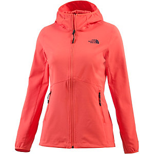 The North Face Nimble Softshelljacke Damen orange