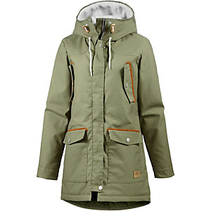 Colour Wear Range Parka Damen oliv