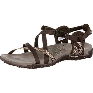 Merrell Terran Lattice II Outdoorsandalen Damen braun