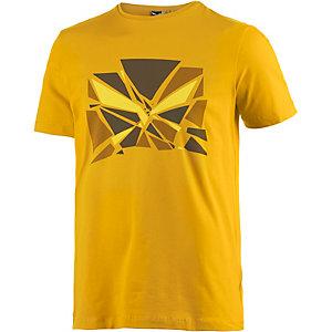 SALEWA Frea Eagle Printshirt Herren senf