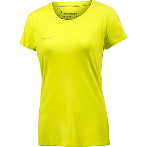 Mammut Logo T-Shirt Damen lemon