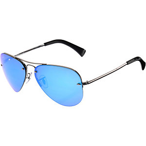 RAY-BAN 0RB3449 004/55 59 Sonnenbrille silber