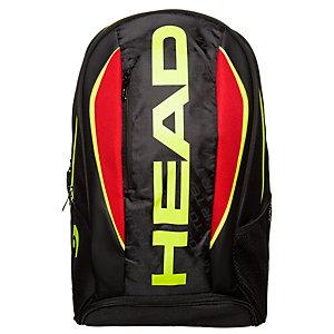 HEAD Tennisrucksack schwarz / rot / gelb