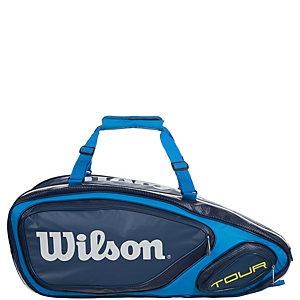 Wilson Tour V 9er Tennistasche blau