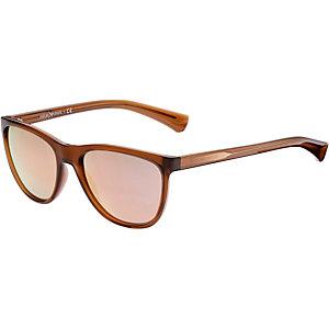 Armani 0EA4053 Sonnenbrille hellbraun