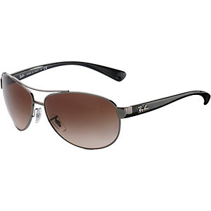 RAY-BAN 0RB3386 004/13 63 Sonnenbrille silber