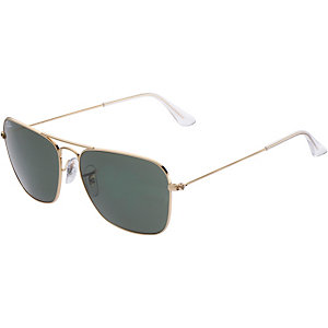 RAY-BAN Caravan 0RB3136 001 58 Sonnenbrille gold