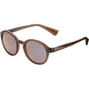 Armani 0EA4054 Sonnenbrille hellbraun