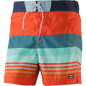 Billabong Vertigo Layback Badeshorts Herren orange/petrol