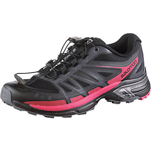 Salomon Wings Pro 2 Mountain Running Schuhe Damen schwarz/pink