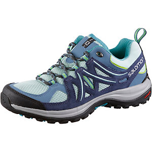 Salomon Ellipse 2 Aero Wanderschuhe Damen blau/mint
