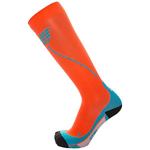 CEP Run Socks 2.0 Laufsocken Herren orange / blau