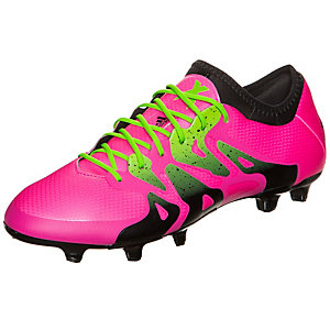 adidas X 15.1 Fußballschuhe Herren pink / neongrün