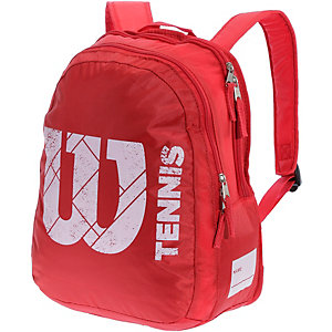 Wilson Match Junior Tennisrucksack rot