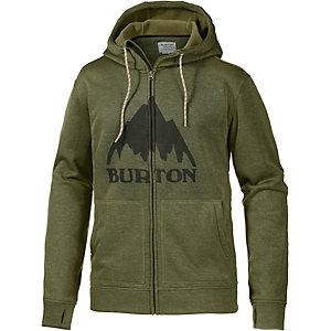 Burton Oak Fleecejacke Herren oliv