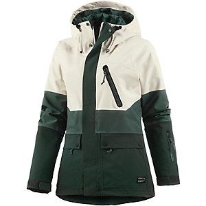 O'NEILL Jeremy Jones Misty Snowboardjacke Damen grün/weiß