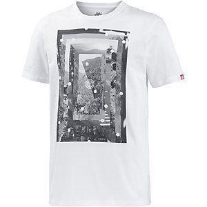 Element Construct Printshirt Herren weiß