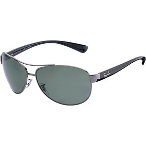 RAY-BAN 0RB3386 004/9A 63 Polarized Sonnenbrille silber