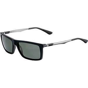 RAY-BAN 0RB4214 601S9A 59 polarized Sonnenbrille schwarz