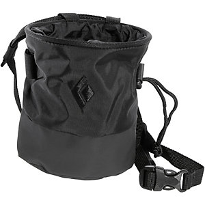 Black Diamond Mojo Zip Chalkbag schwarz/grau