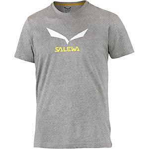 SALEWA Solidlogo 2 Printshirt Herren grau