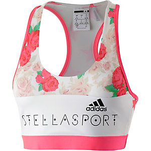 adidas Sport-BH Damen weiß/rot