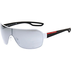 Prada Linea Rossa 0PS 52QS Sonnenbrille weiß